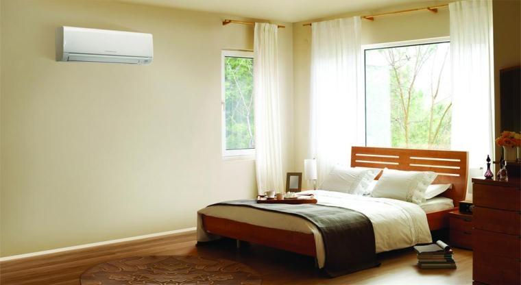 Điều hòa đặt trong phòng ngủ nên sử dụng chế độ Sleep về đêm
