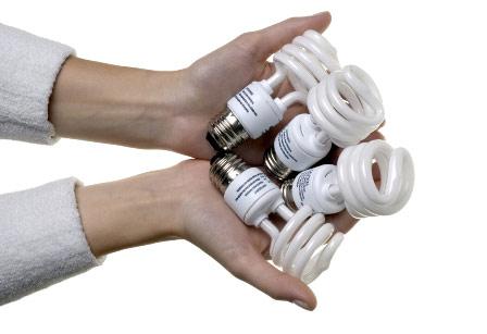Để làm mát nhà, bóng đèn compact là lựa chọn tốt nhất