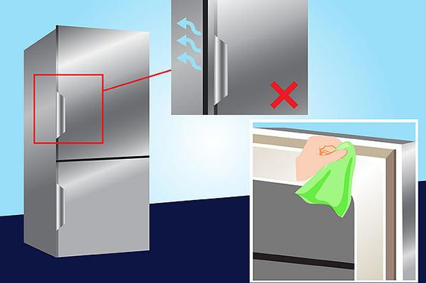 Vệ sinh sạch sẽ giúp tăng tuổi thọ tủ lạnh