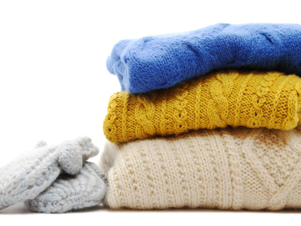 Ngược lại, ngâm áo len bị chảy giãn vào nước 70-80 độ C là mẹo vặt gia đình hữu hiệu
