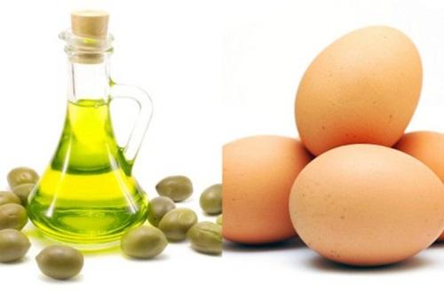 Hỗn hợp dầu oliu với trứng giúp chăm sóc tóc, dưỡng tóc cực hiệu quả