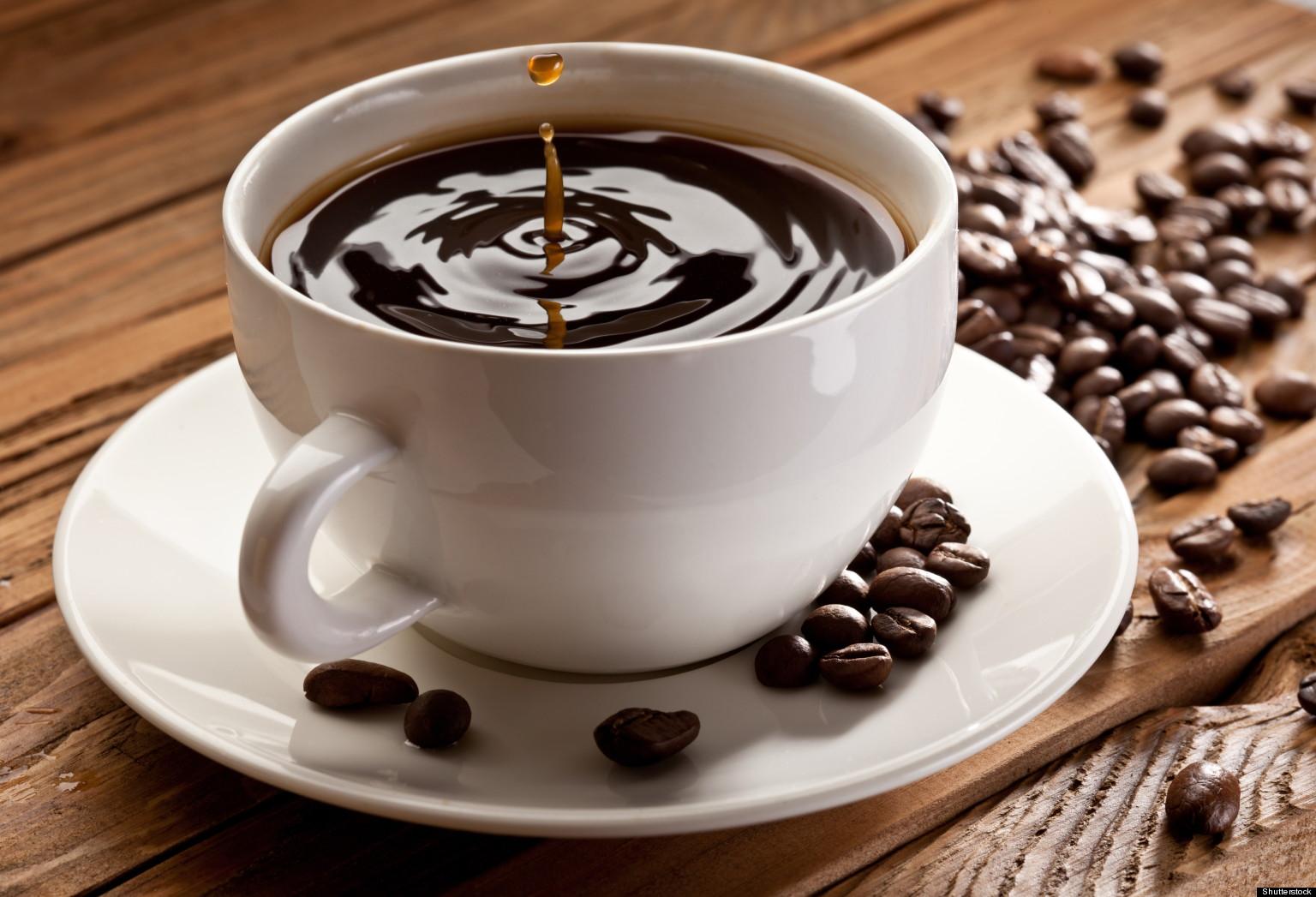 Ly cà phê nguyên chất có độ sánh không đáng kể