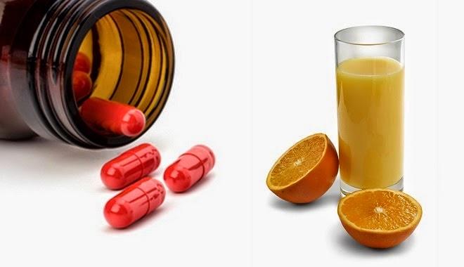 Sai lầm trong ăn uống khi uống thuốc với một số thực phẩm